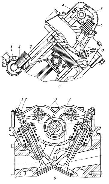 Грм v образного двигателя