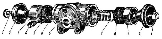 Детали колесного цилиндра