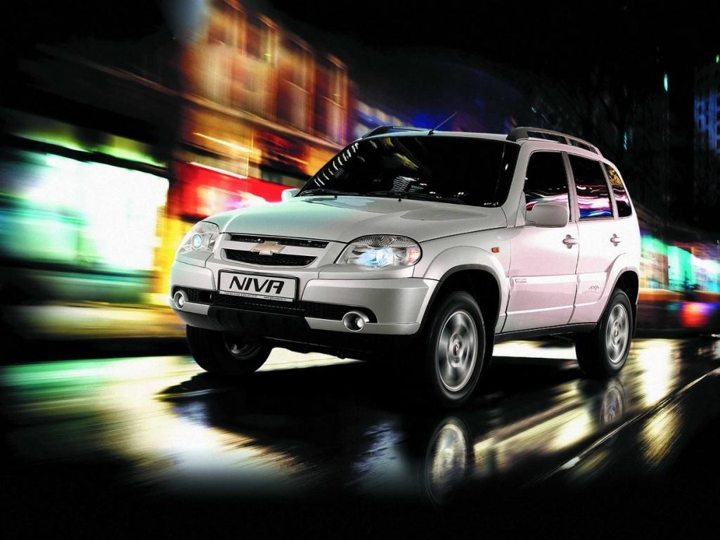 Chevrolet Niva в городе