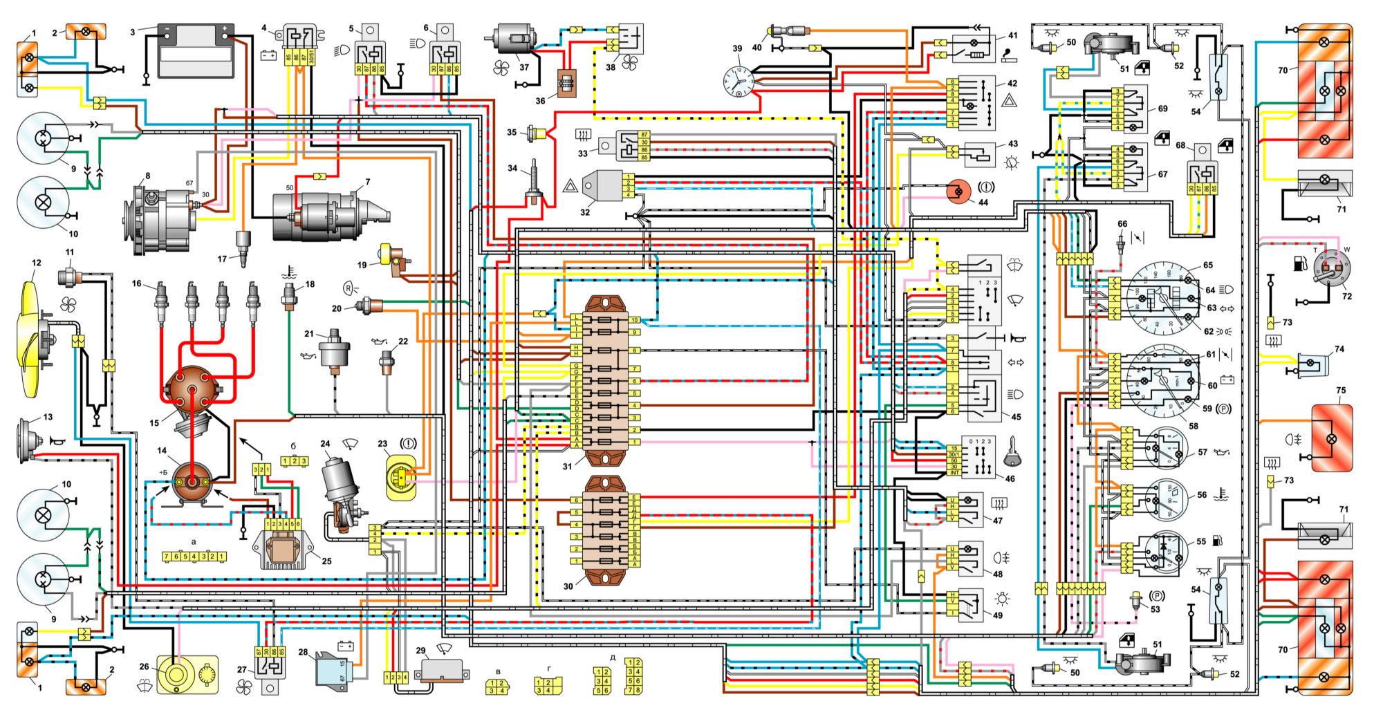 Схема автомобіля