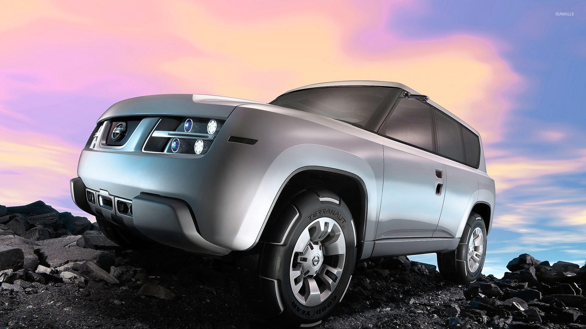 Nissan Terranaut с оригинальными дисками